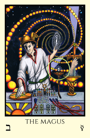 Magus Tabula Mundi Tarot color version