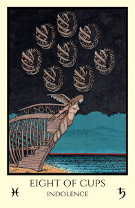 bordered color 8 of Cups