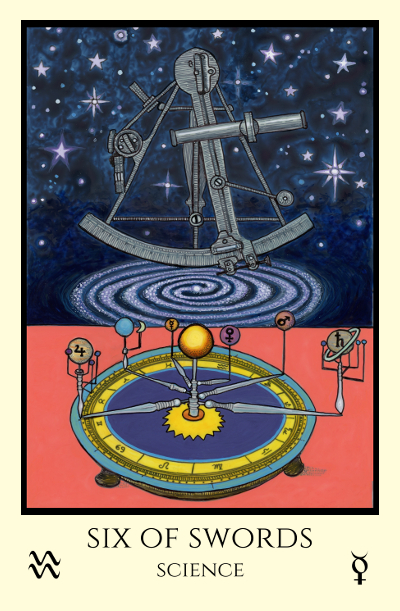New Moon in Aquarius: Science – Tabula Mundi Tarot