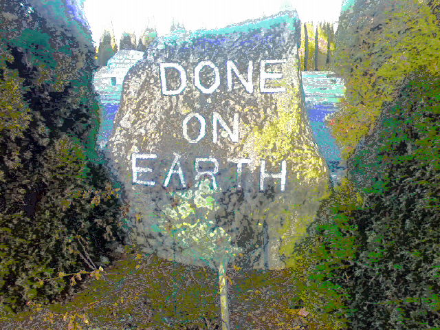 Done on Earth