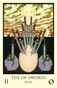 bordered color 10 of Swords small
