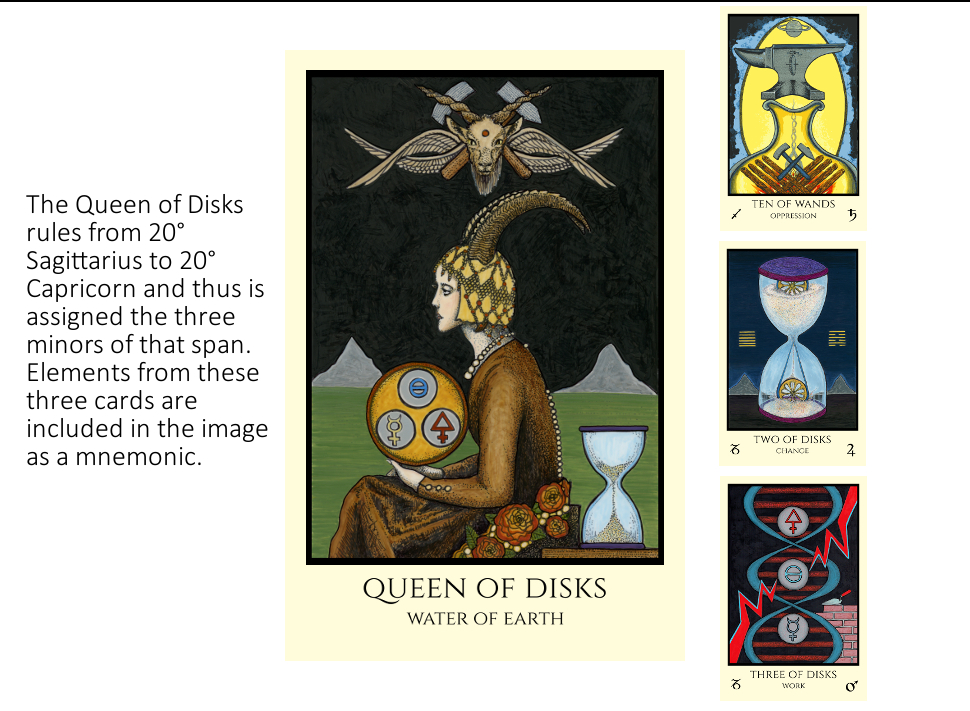 Matter and Spirit series: The Queen of Disks, the descent